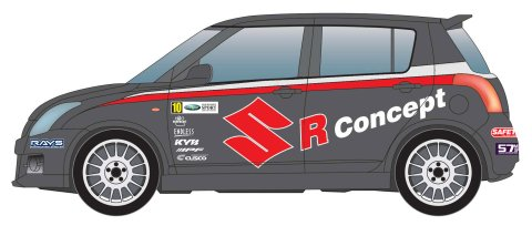 The Suzuki Swift Group-R Concept Car