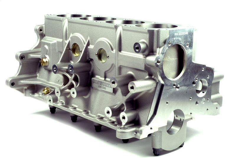 Cosworth YB Cylinder Head and Block - Co-ordSport