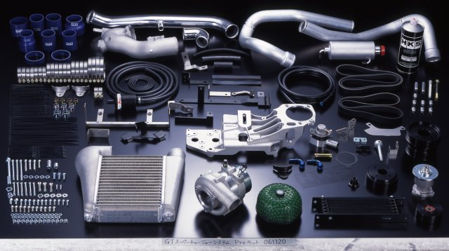 HKS Nissan 350Z supercharger kit