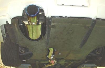 HKS Super Turbo Muffler for R34: 31029-AN003