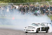 Drifting demonstration at Japfest