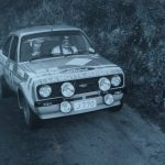 Dave Carrel / Peter Collinson 1984 Tudor Webasto Jersey Rally 1st Overall Ford Escort Group 4