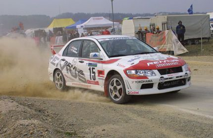 Evo 7 Group N Rally Car