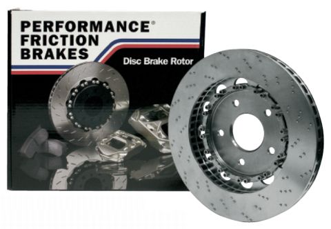 Performance Friction Two-Piece Floating 'Direct Drive' Brake Discs for Porsche