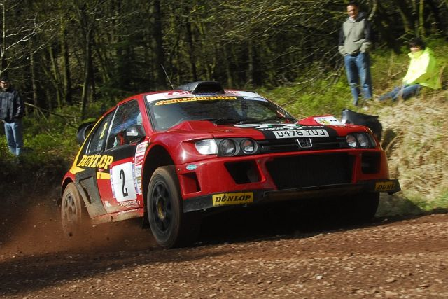 Burton and Rogerson on the 2009 Somerset Stages