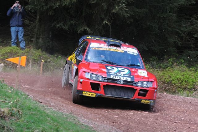 Burton and Rogerson on the Somerset Stages