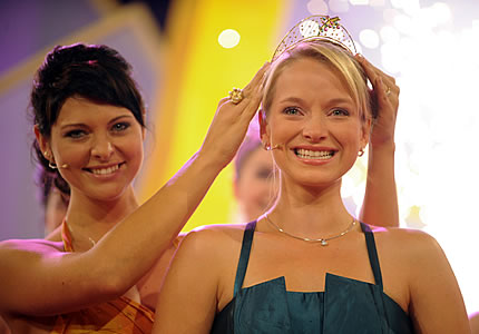 Sonja Christ Crowned German Wine Queen, Photo by DWI