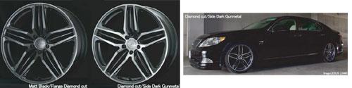 """VOLK Triniti-V, 1-piece 20"""" forged alloy wheel"""