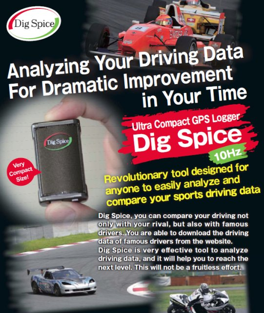 Dig Spice GPS Logger