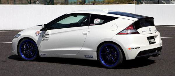 Honda CR-Z fitted with RAYS 57Ultimate SC-Spec cast wheels