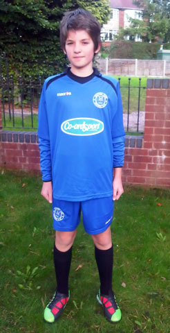 Dani Collinson, Defender with the Stafford Town Panthers U12's