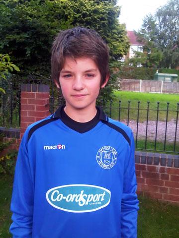 Dani Collinson, Stafford Town Panthers U12 Defender