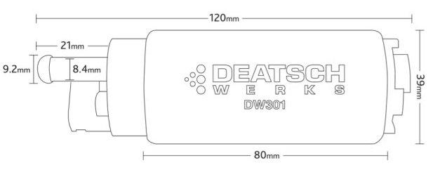 dw-fuel-pump-size