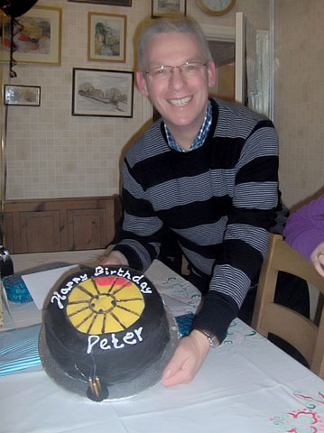 Peter Collinson and his Birthday Cake
