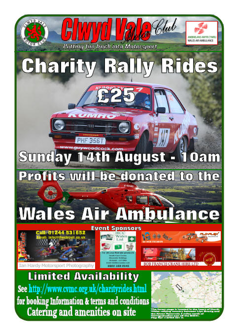 Clwyd Vale Charity Rally Rides