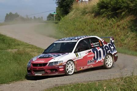 Evo 9 R4 Rally Car Success