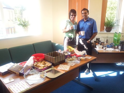 Macmillan Coffee Morning at Co-ordSport