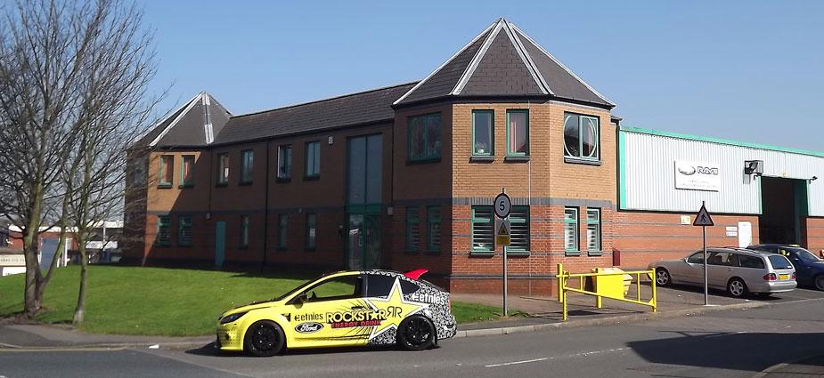 Co-ordSport Premises in Tipton, West Midlands, UK